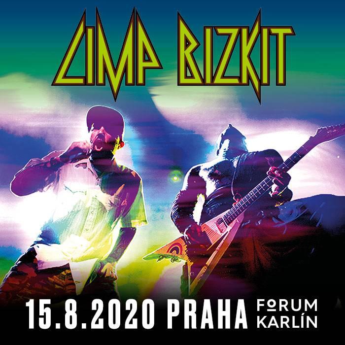 Limp Bizkit v původní sestavě zahrají ve Foru Karlín
