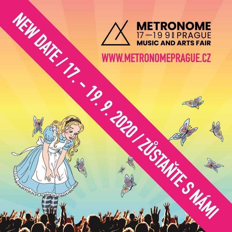 Festival Metronome Prague se kvůli koronaviru přesouvá na září