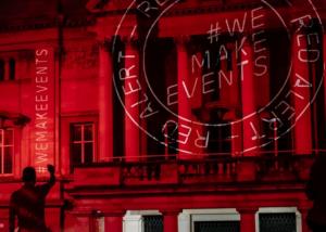ROXY se připojí ke globálnímu protestu #WeMakeEvents, nasvícením fasády bude bojovat za kulturní sektor