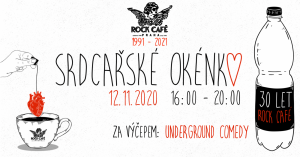 Rock Café otevírá Srdcařské okénko, společně s umělci pomůže potřebným