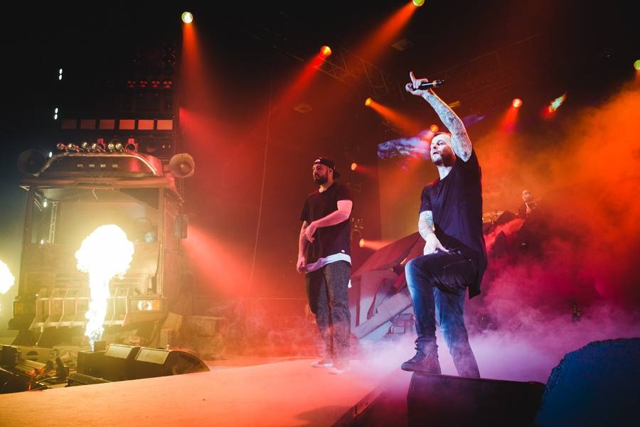 LIVE: Apokalypsa na pódiu a táta v srdci. Marpo křtil jako pán