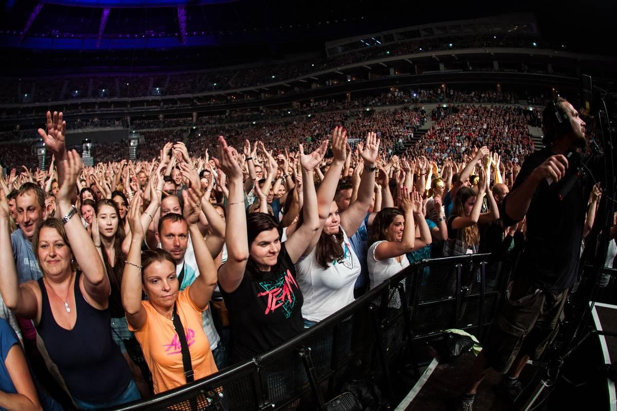 LIVE: Team roztančil v O2 areně všechny věkové kategorie od patnácti do pětašedesáti