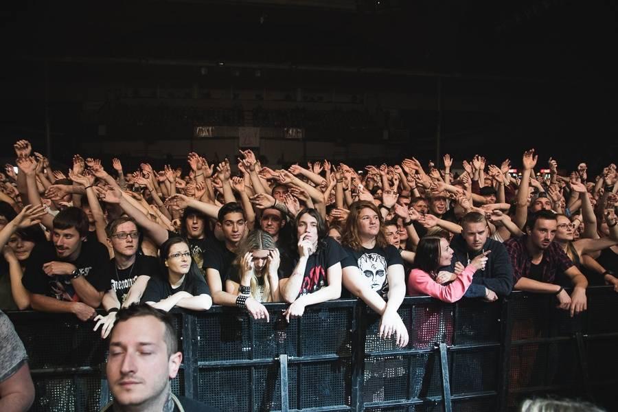 LIVE: Halový Aerodrome festival: Korn předvedli nářez, Bring Me The Horizon vizuální show