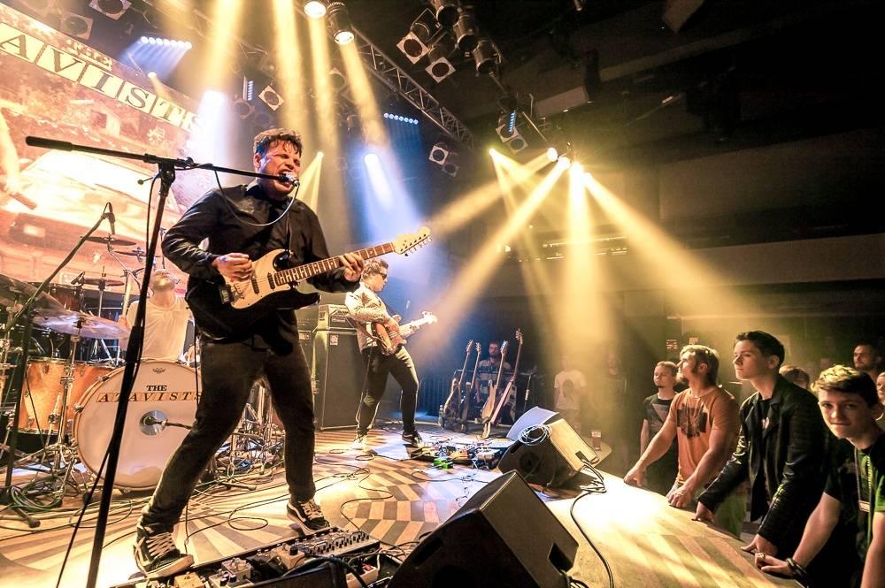 LIVE: Stroy v Lucerna Music Baru: Premiéra klipu, divokost i akustické písně