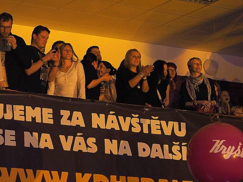 LIVE: Kryštof v Herálci: Srdcebeat po roce a půl utichl