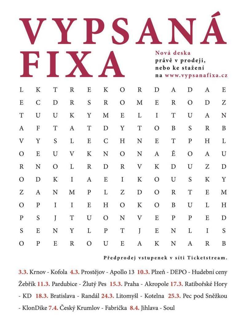RECENZE: Vypsaná Fixa píše novou deskou svoji budoucnost
