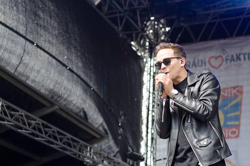 LIVE: Radiofest České Budějovice - Slza plnila přání, Igor Timko z No Name slavil narozeniny