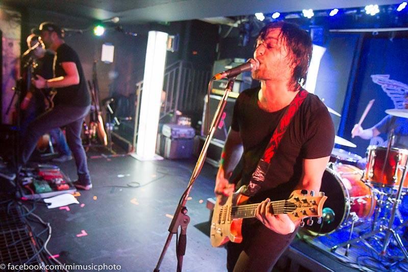 LIVE: Novou desku Imodium pokřtil Kuba Ryba, kapela předvedla živelný rock