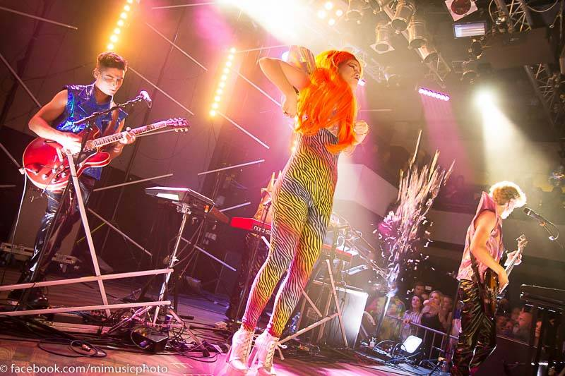 LIVE: Mydy Rabycad změnili zvuk i kostýmy. Křest nové desky byl skvělou show