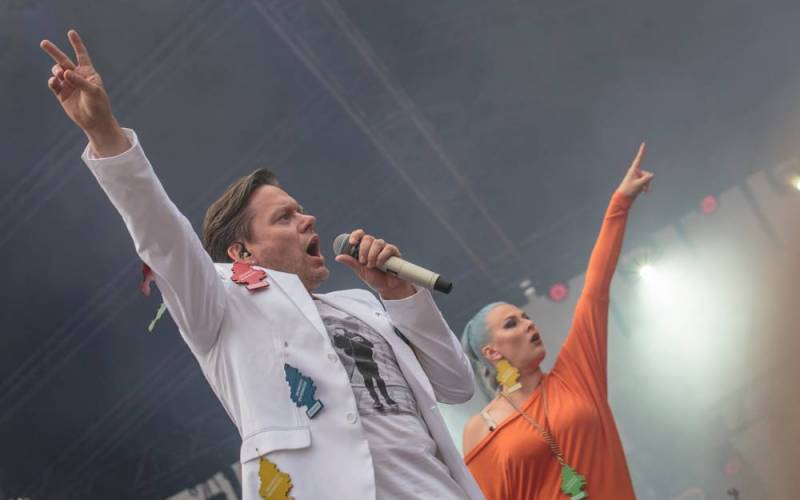 LIVE: Monkey Business = Nejvíc fresh kapela na světě
