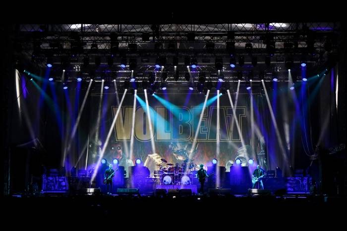 LIVE: Závěru Rock for People vévodili Skillet a Volbeat