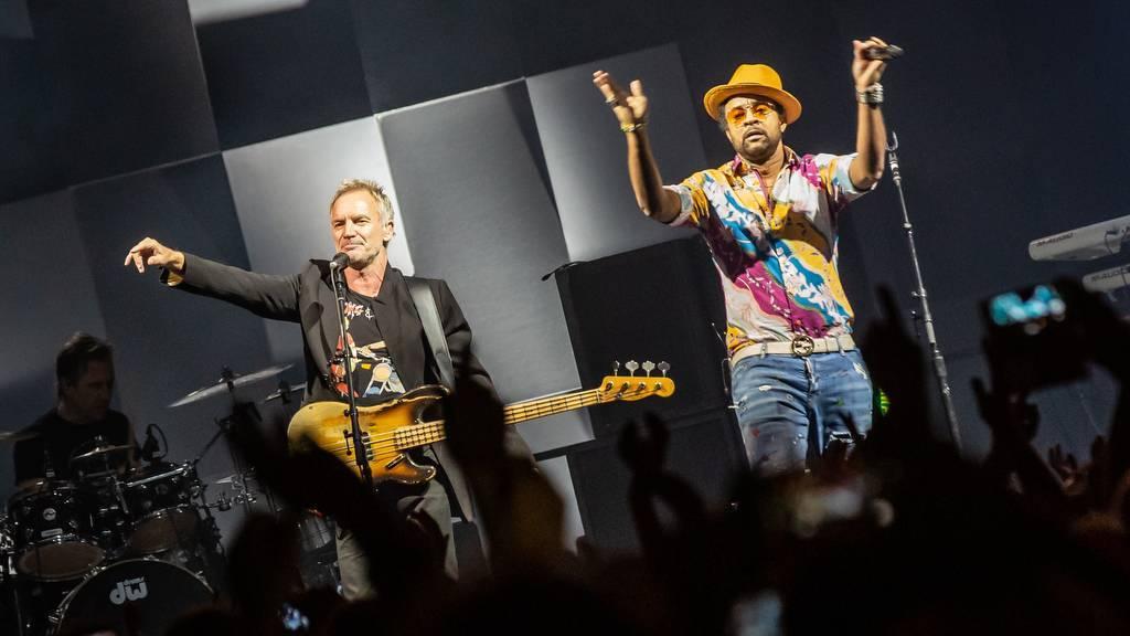LIVE: Sting a Shaggy v Praze předvedli, že spojení rocku a reggae může fungovat