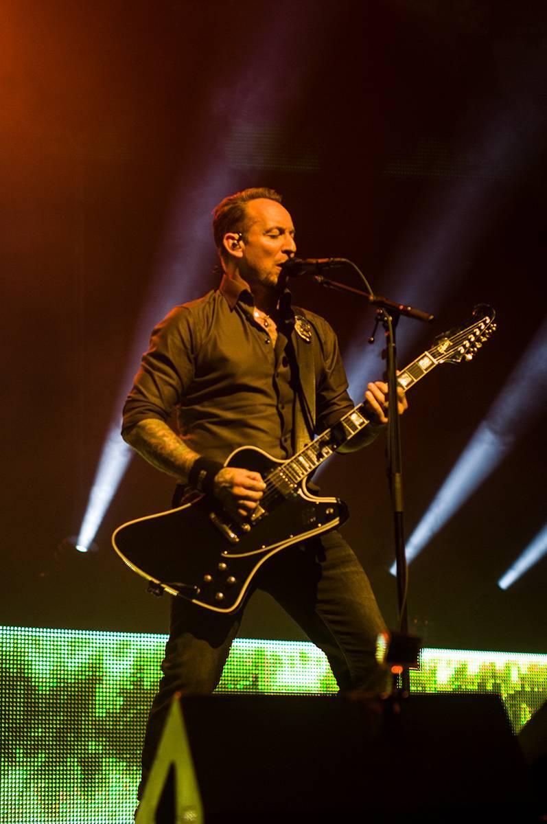 LIVE: Volbeat oslavili v Praze Halloween ve velkém stylu