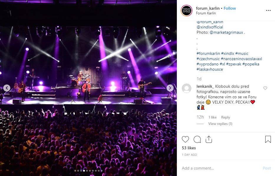 LIVE: Xindl X ve Foru Karlín slavil narozeniny, křtil album a převzal platinu