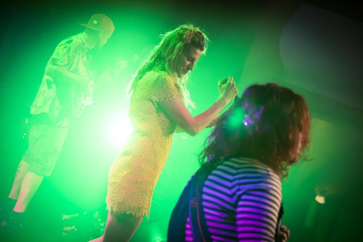 LIVE: Gaia Mesiah hrála jako o život, energii rozhazovala plnými hrstmi