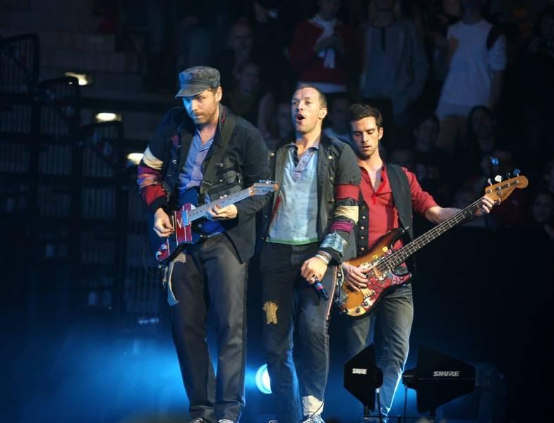 LIVE: Jací byli Coldplay před čtyřmi lety v Praze