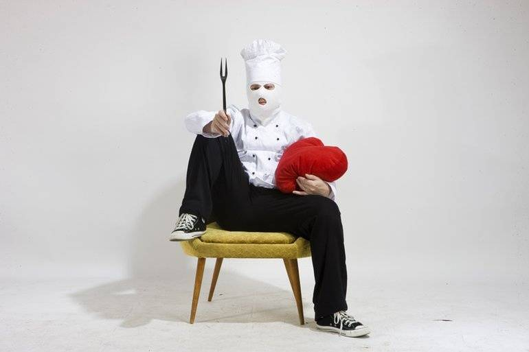 Kittchen interview: Díky kuchařské masce jsem se dostal k pojmenování intimních a hodně důležitých věcí