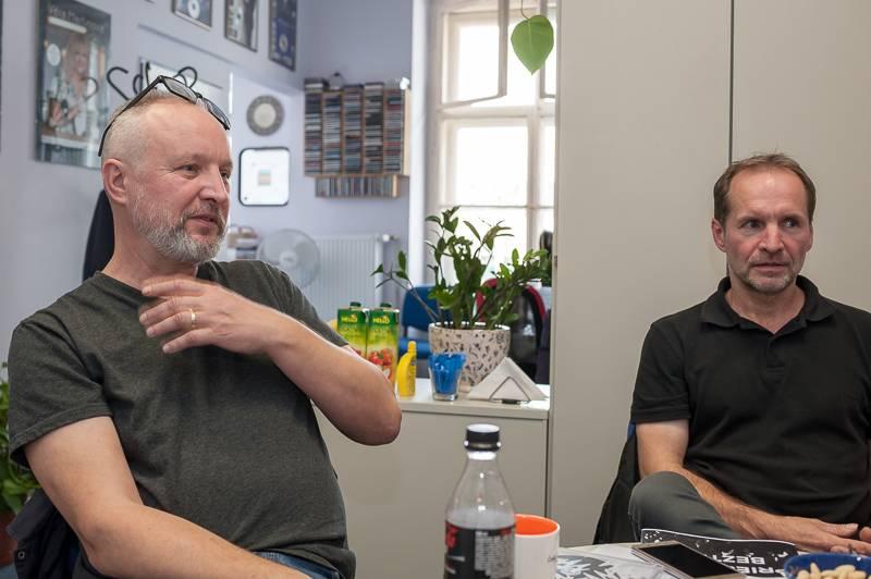 Priessnitz interview: Nedokážeme si představit, že bychom se v šedesáti dohadovali nad deskou