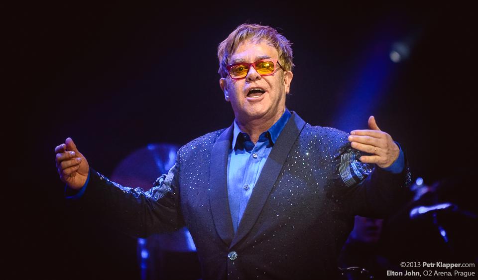 TOP 5 písní Eltona Johna: Pocta princezně Dianě, hit z animované pohádky a další