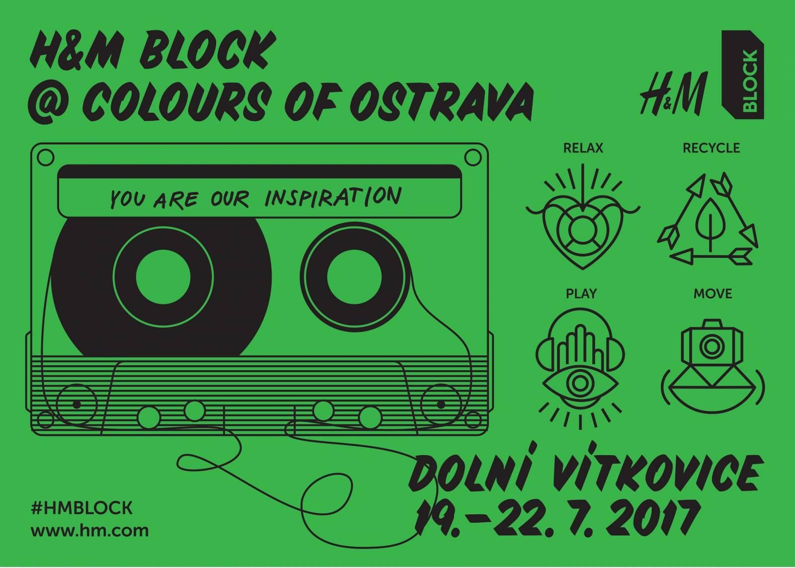 H&M opět zaBLOCKuje Colours of Ostrava