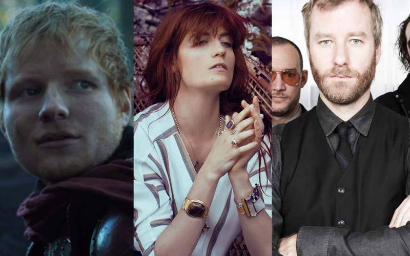 TOP 7 nejlepších písní Hry o trůny: Nahráli je Ed Sheeran, Florence And The Machine i Coldplay