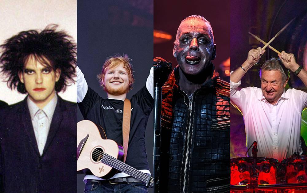 Na co se těšit v červenci: Rammstein zapálí Prahu, The Cure míří na Colours, Ed Sheeran vystoupí dvakrát
