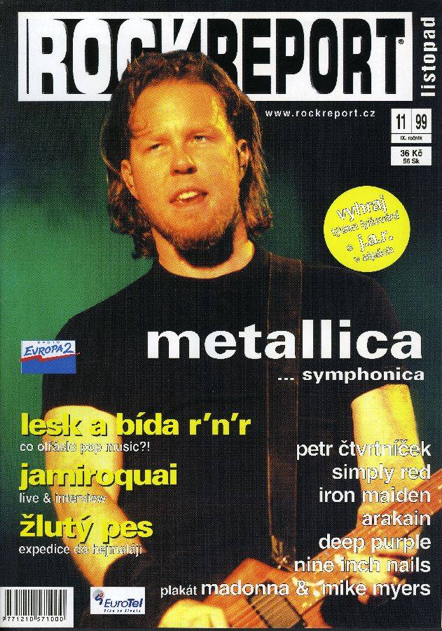 RETRO: Metallica a San Francisco Symphony poprvé - James Hetfield mluví o projektu S&M