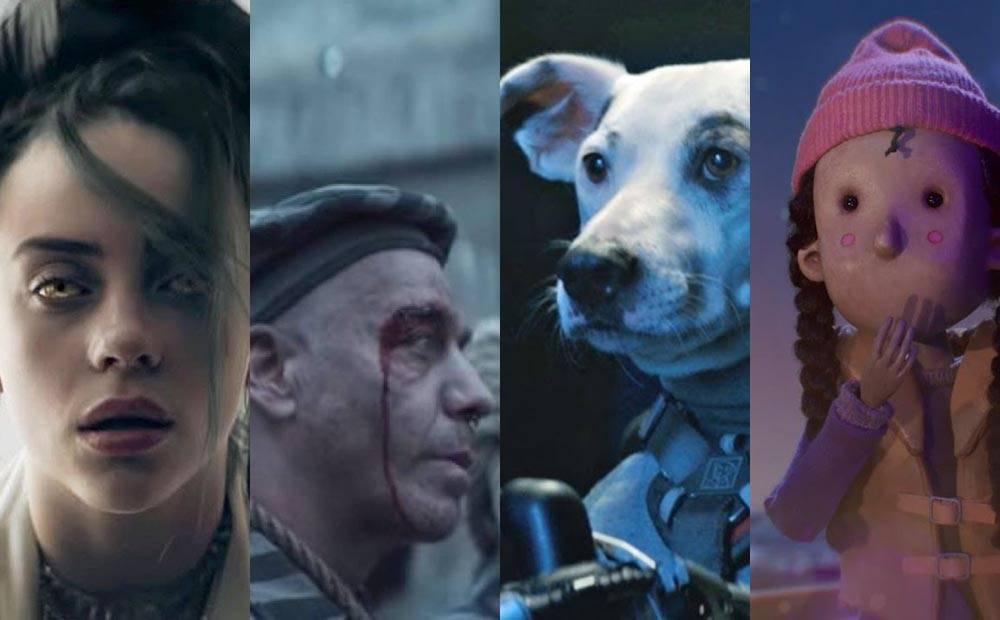 TOP 10 zahraničních videoklipů roku 2019 podle iREPORTu: Epičtí Rammstein, hororová Billie Eilish i animovaní Coldplay