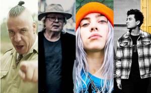 TOP 10 skladeb roku 2019: Vladimír Mišík, Vypsaná fiXa, Rammstein, Billie Eilish i Tool