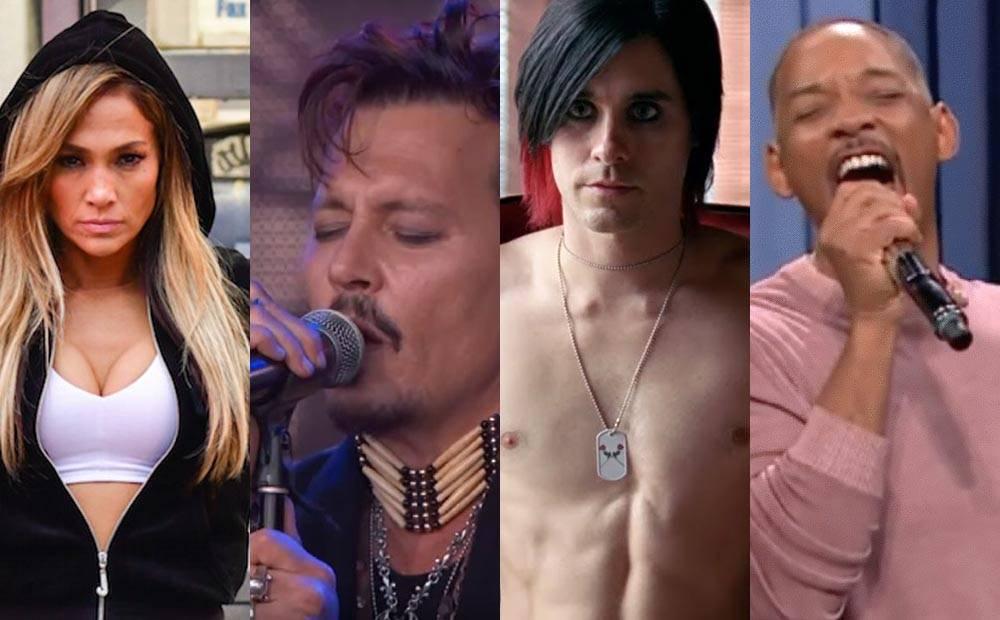 TOP 10 herců, kteří jsou i úspěšnými hudebníky, a naopak: Johnny Depp, Lady Gaga i Jared Leto