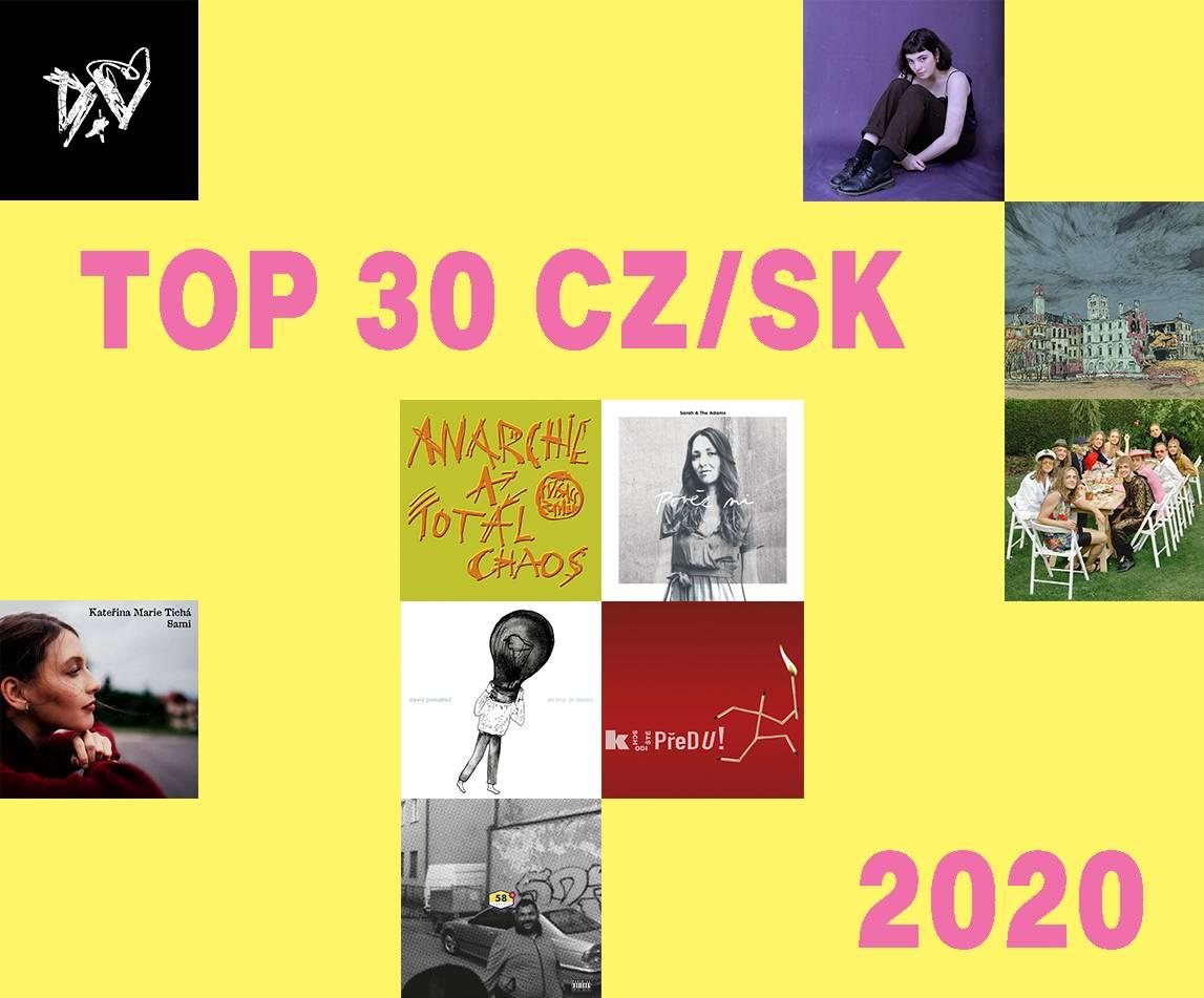 TOP 30 českých desek roku 2020 (1. část)