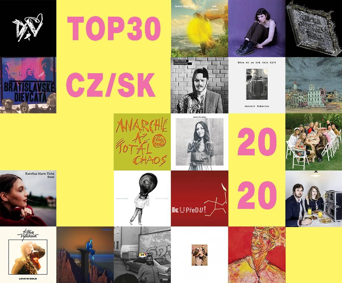 TOP 30 českých desek roku 2020 (2. část)