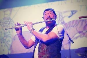 BIZÁR TÝDNE: Frontman hardrockových Jethro Tull Ian Anderson doprovodil na flétnu Michala Davida