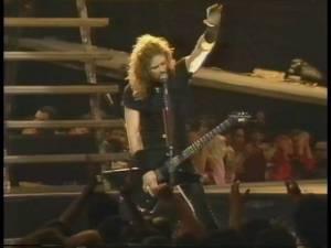 Metallica: Jaký byl její první koncert v Česku v roce 1993?
