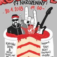 27. narozeniny Rock Café