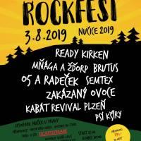 Rockfest Nučice 2019 pro dětský domov Klokánek v Hostivicích