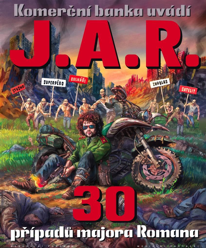 J.A.R. 30 případů majora Romana (tour)