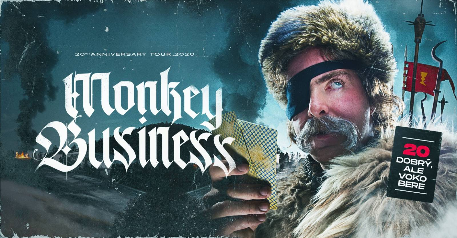 Monkey Business - 20th Anniversary tour 2020