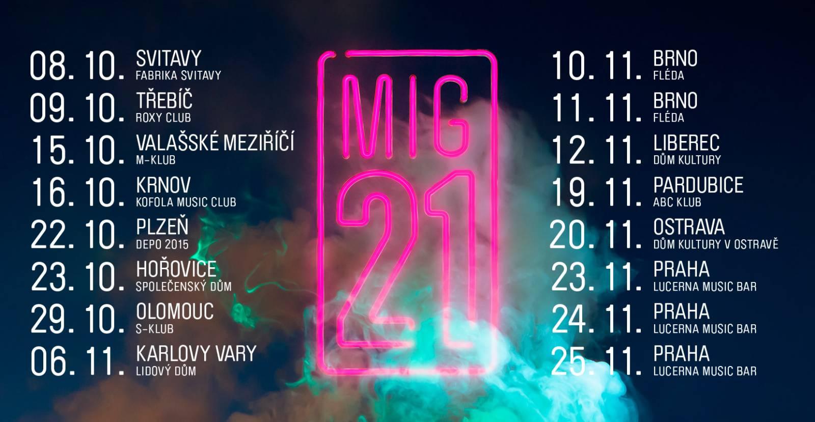 Mig 21 - Tour - PODZIM 2021