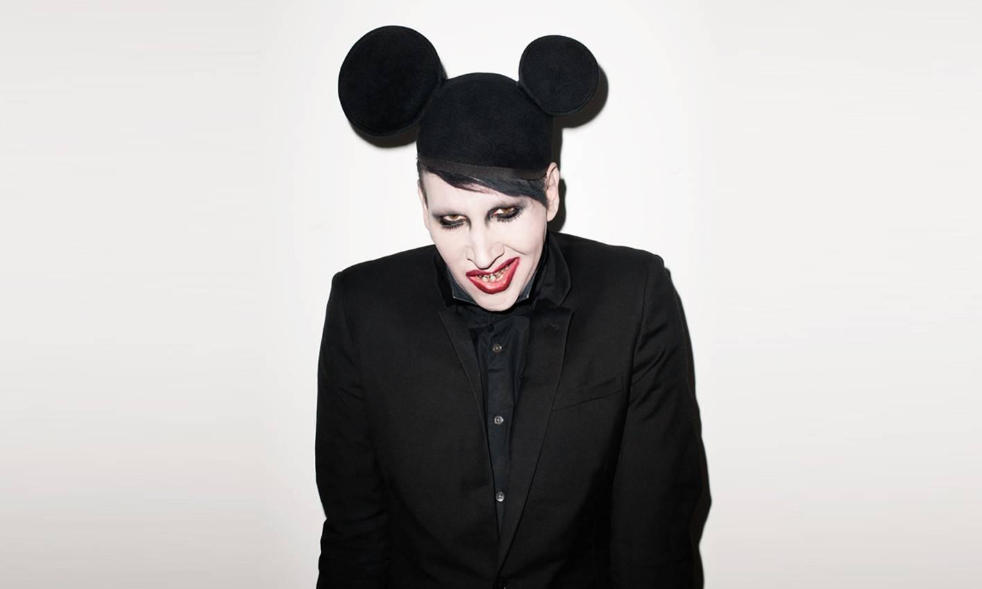 POST SCRIPTUM (31): Přání smrti - bývalý spoluhráč vzkazuje Marilynu Mansonovi, aby se zastřelil