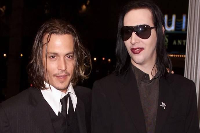 POST SCRIPTUM (62): Marilyn Manson se postavil za Johnnyho Deppa. Není to žádný násilník, odporuje slovům jeho bývalé manželky