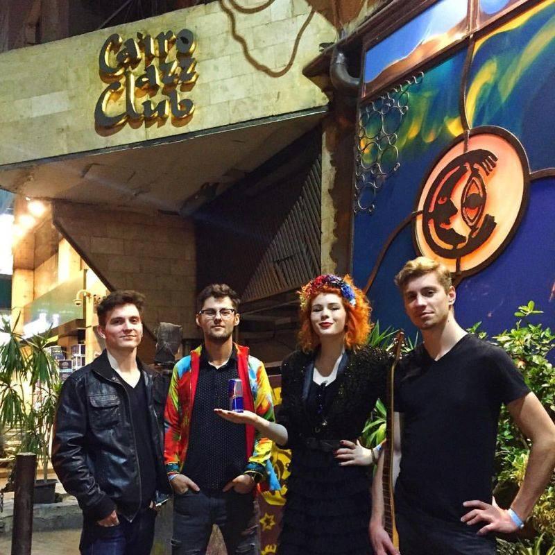 BLOG: Mydy Rabycad zahráli poprvé v Africe. Koncert v Cairo Jazz Clubu okem a uchem manažera a zvukaře Petra Blažka