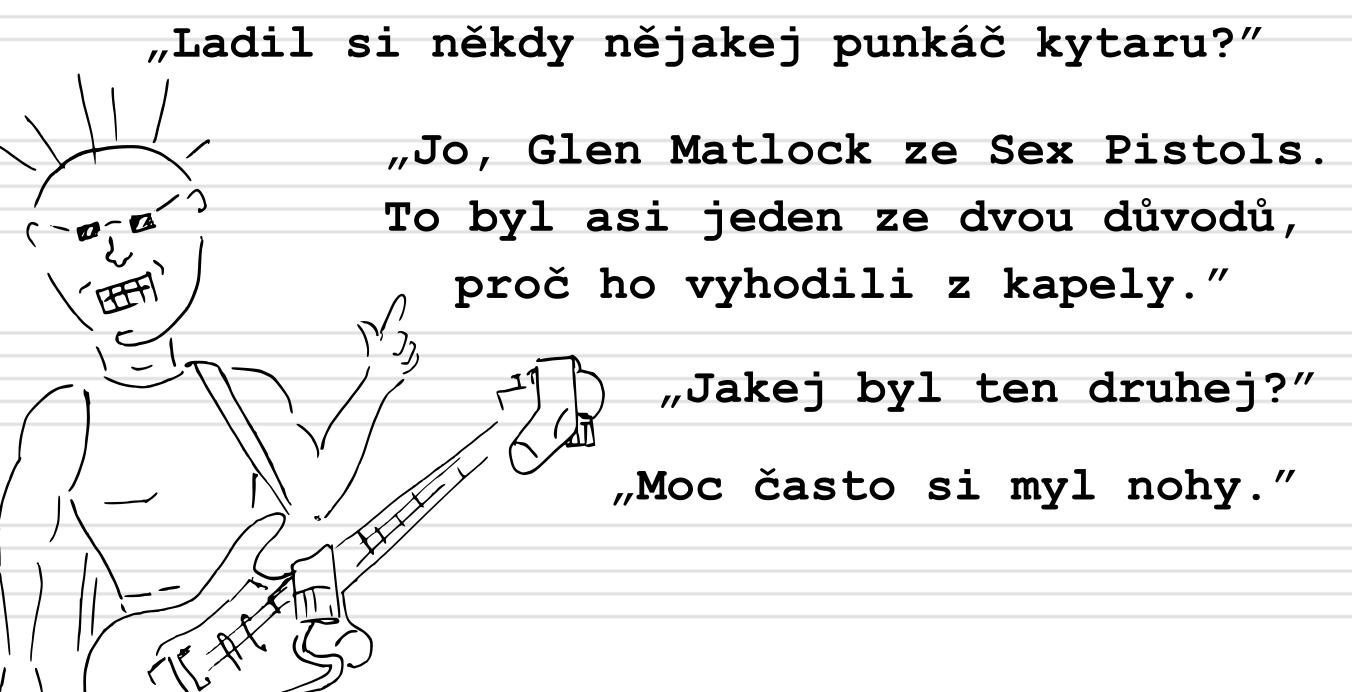 Deník neúspěšného hudebníka (20.): Ladění