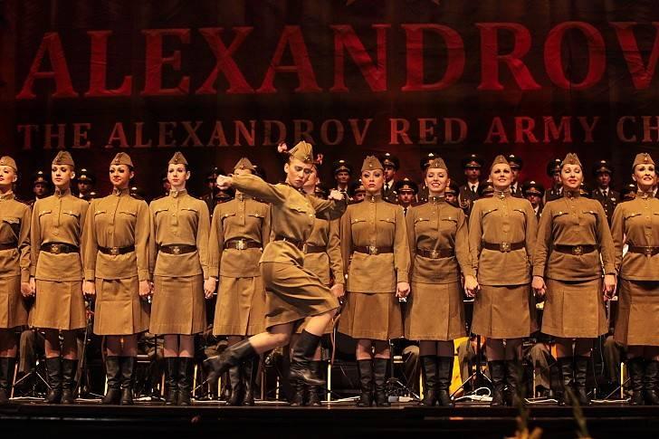 SMRT SI ŘÍKÁ ROCK'N'ROLL: Alexandrovci - Umění ve vojenských uniformách