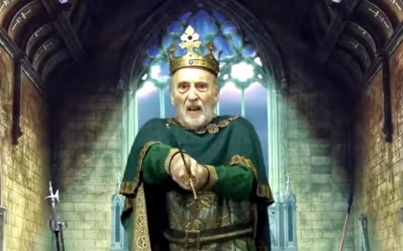 Christopher Lee - Ikonický představitel Draculy nebo Sarumana vydal ještě v jednadevadesáti letech metalovou desku