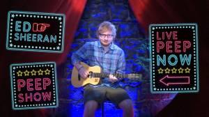 VIDEO: Ed Sheeran vystoupil v peep show! K mání byl za 2 dolary
