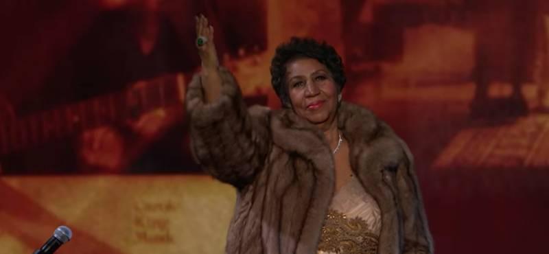 VIDEO: Skvělá Aretha Franklin rozplakala i Baracka Obamu