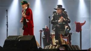 VIDEO: AC/DC zahájili turné s Axlem Rosem. Posuďte sami, co nás čeká v Letňanech