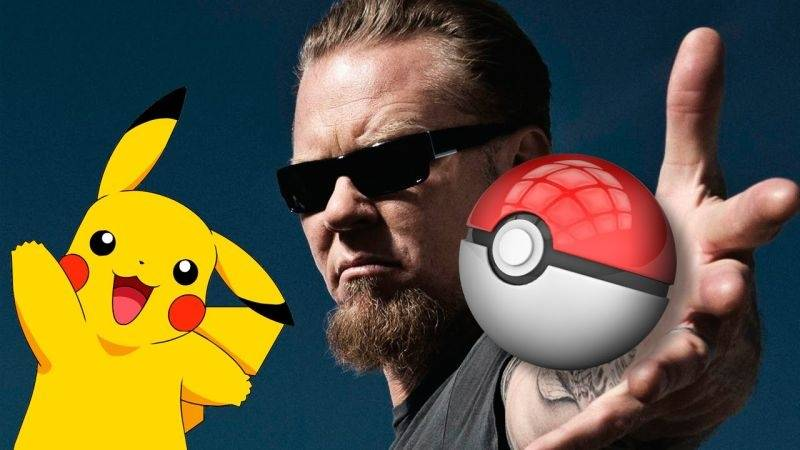 VIDEO: Metallica hraje na koncertě song o Pokémonech