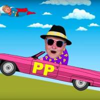 VIDEO: Doctor P.P. si v klipové road movie utahuje ze Zemana, Trumpa i Slavíka